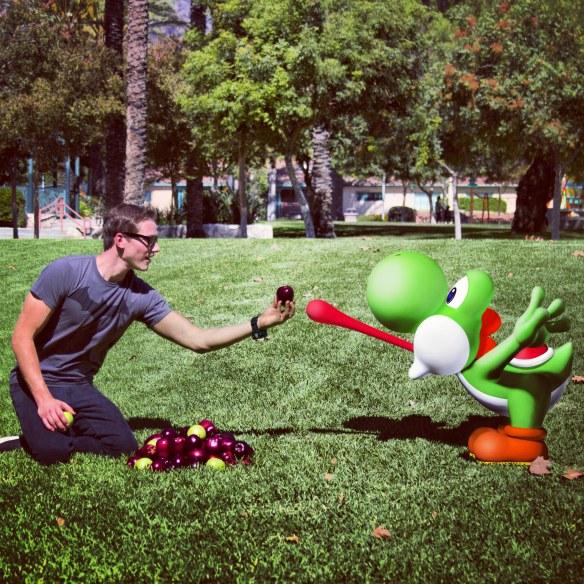 Took Yoshi to the Park :)